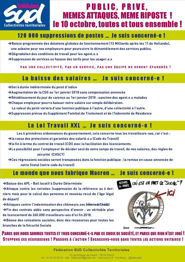 Le 10 Octobre Toutes Et Tous Ensemble Sud Ct Saint Herblain