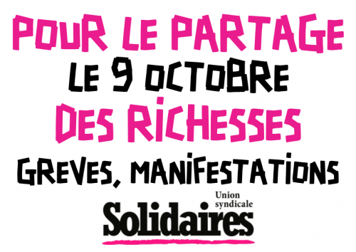 Grève Union syndicale Solidaires