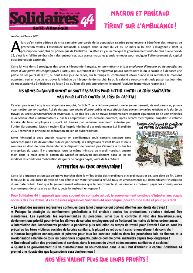 SUD Solidaires