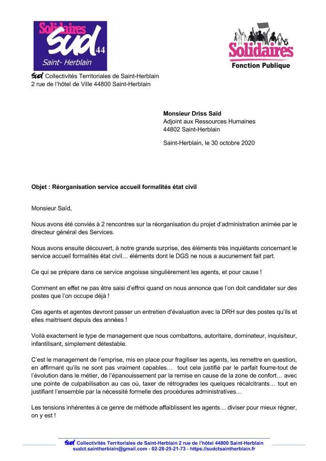 Etat Civil mairie Saint-Herblain